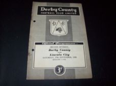 Derby County v Lincoln City, 1958/59